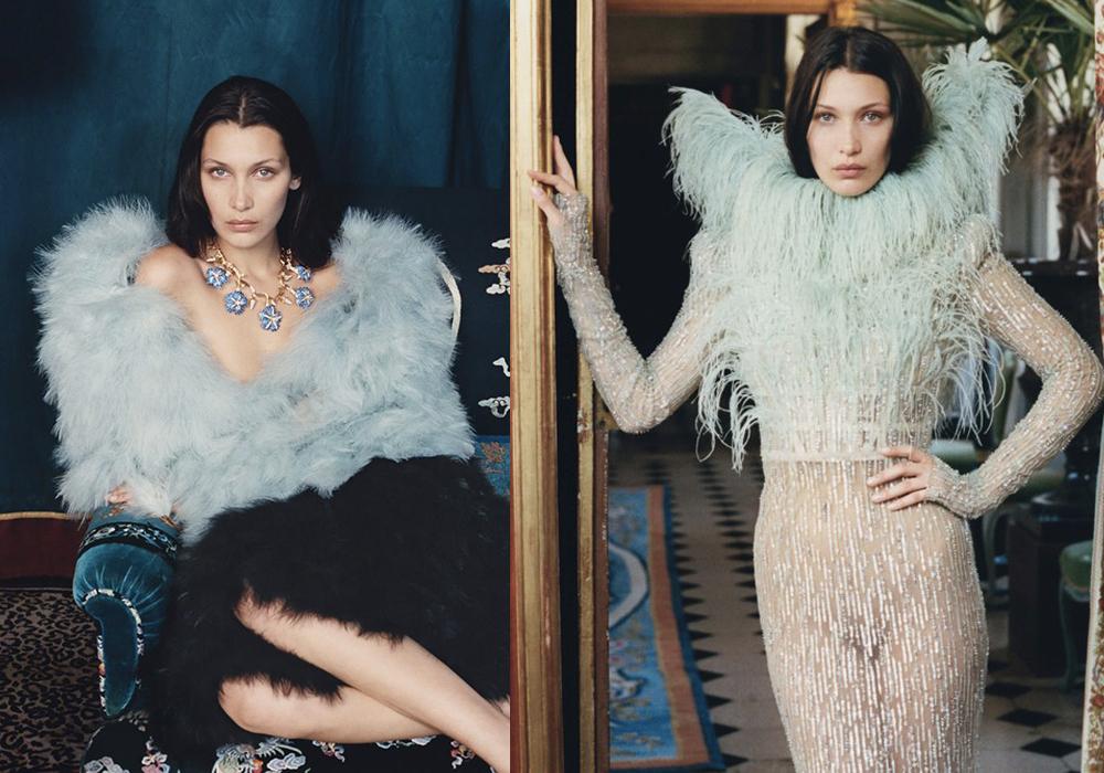 Bella Hadid W Magazine editorial