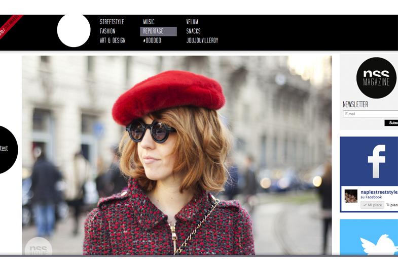 classico cappello rossa in pellicce vere
