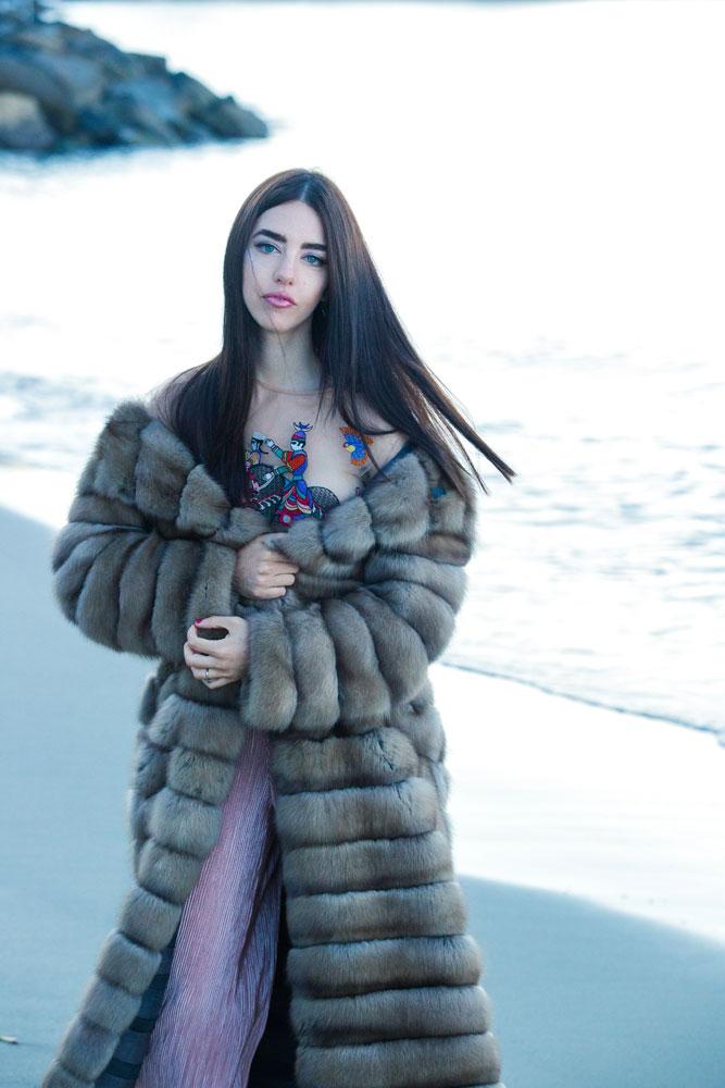 lady fur monaco carlo ramello