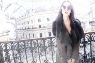 cappotto di zibellino magnani lady fur