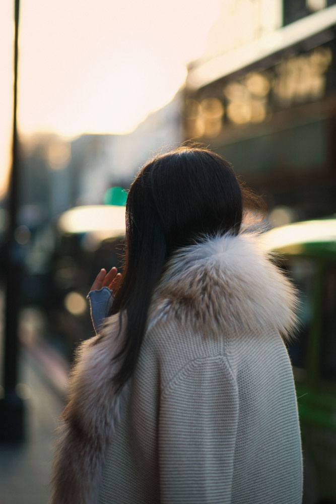 pelliccia lady fur maglia