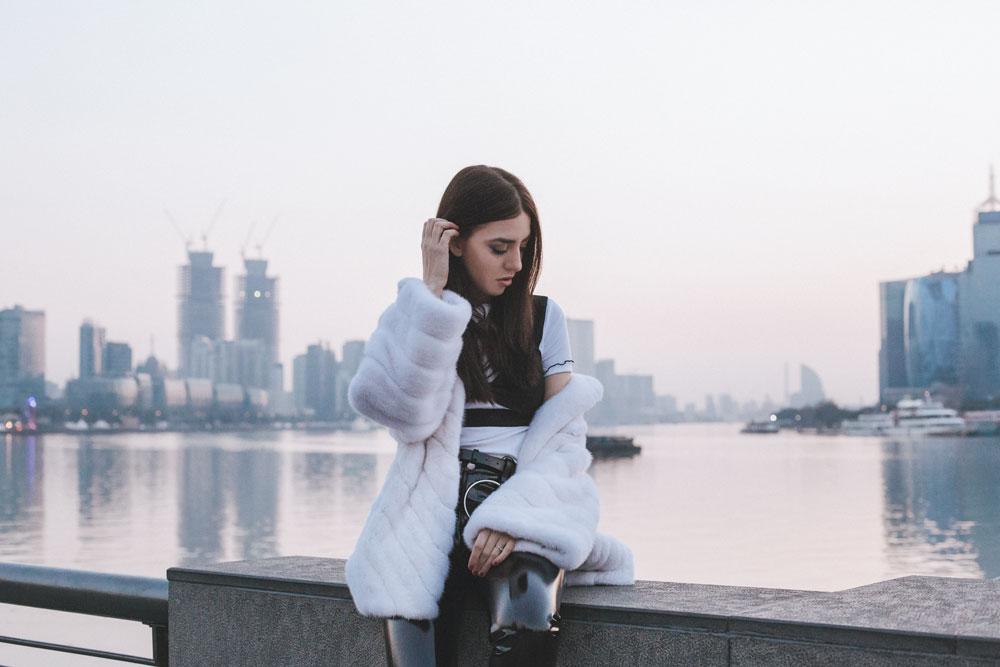 giacca di pelliccia xxl giorgio magnani lady fur