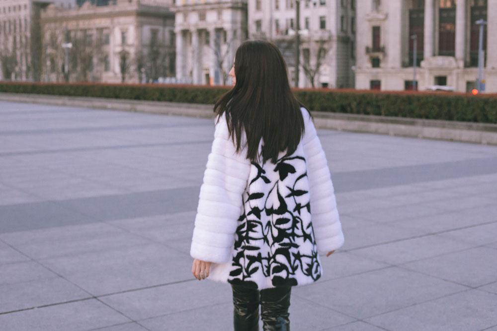 pelliccia bianca giorgio magnani