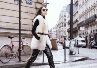 Pelliccia Volpe Bianca lady fur