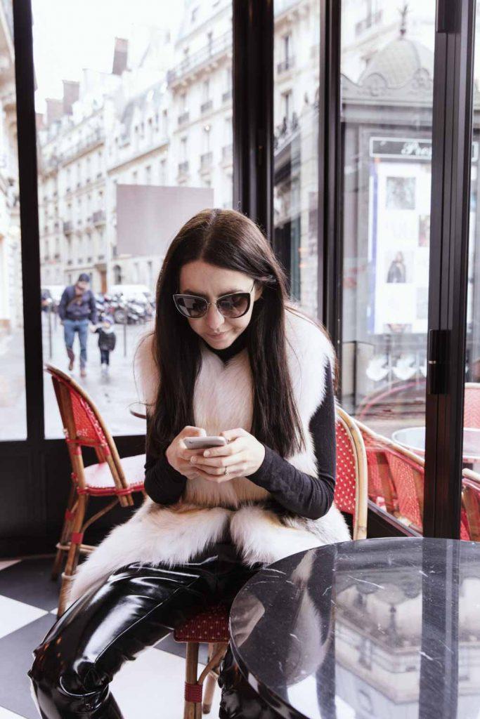 Gilet volpe lady fur