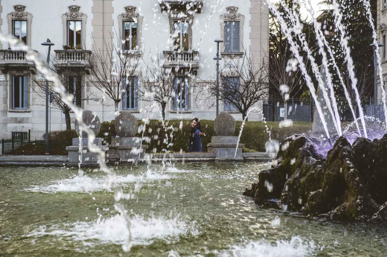 fontana a milano