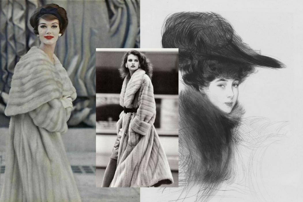 guida pellicce vintage
