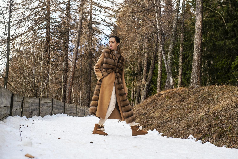 cappotto in zibellino Manzoni 24